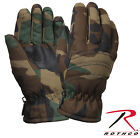 Kid's Insulated Winter Gloves w/Leather Palm Kids Camouflage Gloves  Rothco 4943