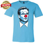 Roger Goodell Clown Face T-Shirt NFL Super Bowl New England Patriots LA Rams
