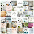 Wall Stickers Removable Art Pvc Diy Wall Decal Mural Home Office Room Decoration