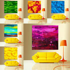 Colorful Abstract Oil Painting Canvas Prints Picture Mural Bright Home Art Decor