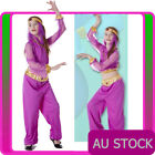 Girls Arabian Genie Aladdin Arab Jasmine Princess Costume Belly Dancer Book Week