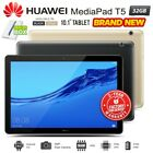 "New Unlocked HUAWEI Mediapad T5 10.1"" FHD Black Gold Android PC Tablet WiFi 4G"