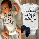 US Infant Baby Boy Girl Romper Bodysuit Jumpsuit Summer Clothes Outfits Sunsuit