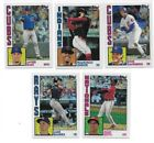 2019 Topps Series 1 1984 Chrome Refractor 1-50 PICK FROM LIST COMPLETE YOUR SET
