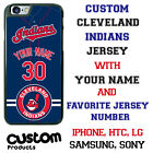 CLEVELAND INDIANS PHONE CASE COVER FITS IPHONE SAMSUNG LG MOTO etc NAME&NUMBER