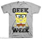 SPONGE BOB Geek Of The Settimana T-shirt T-shirt cotton officially licensed