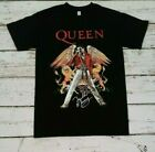 NEW - QUEEN - FREDDIE  MERCURY- Red Jacket - Autograph  BAND  T-SHIRT  image
