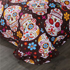 Sugar Skull Bedding Set Single/Queen/King Size Duvet Cover Bed Sheet Pillowcase