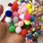 Внешний вид - 200/1000PCS Mixed Pompon Plush Felt Ball DIY Toy for Crafting Sewing Clothing
