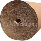 1500mm Wide CORRUGATED CARDBOARD PAPER ROLLS Postal Packaging Wrapping Parcels