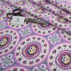 Ethnic Digital Print Upholstery Fabric Water Resistant Craft Sofa Curtain Indian