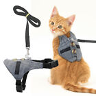 Cat Walking Jacket Harness  Leash Escape Proof Adjustable Pet Dog Vest Clothes