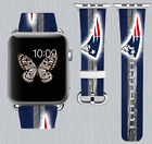 New England Patriots Apple Watch Band 38 40 42 44 mm IWatch PU Leather Strap 255 on eBay
