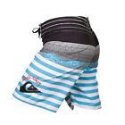 Quiksilver Stretchy Mens Boardshorts YOUTH CASUAL SZIE 30 32 34 36 38 40 42 44