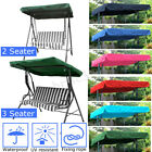 2 & 3 Seater Sizes Spare Cover Replacement Canopy Swing Seat For Garden
