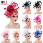HOT party large fascinator handmade hair accessory clip hat women bridal wedding