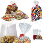 Clear Polythene FOOD BAGS(100 Gauge) ANY SIZE/QTY* Poly/Bag/Storage