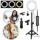 Professional LED Ring Light Clip-on Selfie Cellphone + Holder YouTube Live Video