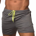 Mens Gym Training Shorts Workout Sports Casual Clothing Fitness Running Short