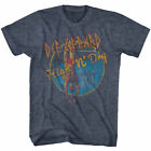 Def Leppard High n Dry Men's T Shirt Pool Dive 1981 Vintage Hair Metal Rock Band image
