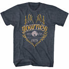 Journey Evolution Tour 1979 Men's T Shirt Rock Band Vintage Concert Music Merch image