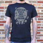 Star Wars | Never Tell Me The Odds T-Shirt (Mens) $24.05 CAD on eBay