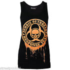 DARKSIDE CLOTHING GLOW IN THE DARK UNISEX BEATER VEST OUTBREAK RESPONSE TEAM