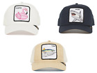 Goorin Bros Animal Farm Snapback Trucker Hat Cap Navy Shark, Tuna, Flamingo