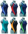 CHEX Maldives Racer Back Ladies Girls Swimming Costume Swim Suit Contrast Panel