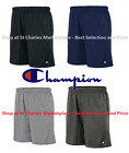 """Champion Authentic Cotton 9-Inch 9"""" Men's Shorts with Pockets, Pick Color / Size"""