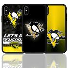 Pittsburgh Penguins Ice Hockey Silicone Case Cover For iPhone XR XS 11 Pro Max $8.58 USD on eBay