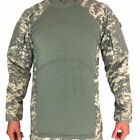 MASSIF FLAME RESISTANT FR Army Combat Shirt ACU ACS SHIRT All Sizes PRE-OWNED