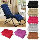 Replacement Cotton Cushion Cover Sun Lounger Recliner Sofa Garden Chair Seat Pad