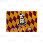 Bradford City FC Official Personalised Retro Shirt 1991 Flag Banner BCB004