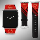 Calgary Flames Apple Watch Band 38 40 42 44 mm Series 5 1 2 3 4 Wrist Strap 2 $32.99 USD on eBay