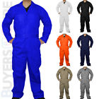 Men's Coveralls Long Sleeve Coverall Mechanic Jump Suit Boilersuit Workwear