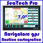 NAVIGATORE GPS NAUTICO CARTOGRAFICO PLOTTER - DISPLAY 7,0