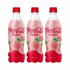 Coca Cola Peach Flavour 2019 Japan Limited Edition 2-3 Bottles Pack 500mL Pink $20.99  on eBay