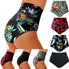 US Women High Waisted Bikini Swim Pants Shorts Bottom Swimsuit Swimwear Bathing