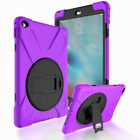 Hybrid 360 Rotating Stand Case For Apple iPad Mini 1 2 3 4 with Screen Protector