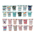 2Pair Baby Anti Scratching Gloves Newborn Protection Face Cotton Scratch Mittens