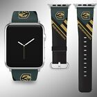 Vegas Golden Knights Apple Watch Band 38 40 42 44 mm Fabric Leather Strap 02 $29.97 USD on eBay