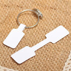 100x/bag Blank Adhesive Sticker Ring Necklace Jewelry Display Price Label Tag—AY