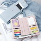 Women Wallet Purse Shoulder Bag PU Leather Coin Cell Phone Mini Cross-body Bagt