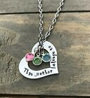 Kyпить Mothers Day heart necklace personalized daughter son birthstone MOM Mother Gift на еВаy.соm