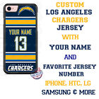 LOS ANGELES CHARGERS NFL FOOTBALL PHONE CASE COVER FOR iPHONE SAMSUNG etc NAME # $19.98 USD on eBay