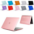 Crystal Rubberized Hard Shell Cover Case For Apple Macbook Air 11.6 inch Laptop