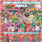 Shiny Mega Evolutions Bundle - Pokemon - Ultra Sun | Ultra Moon | ORAS