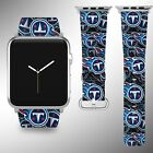 Tennessee Titans Apple Watch Band 38 40 42 44 mm Series 5 1 2 3 4 Wrist Strap 04 $32.99 USD on eBay