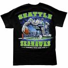 SEAHAWKS END ZONE TOUCH DOWN T-SHIRT NFL SEATTLE FOOTBALL DIVING